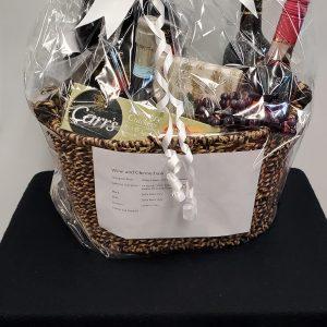 Wine & Cheese Basket #1