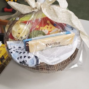 Baby Basket with Pair of Socks IV#2