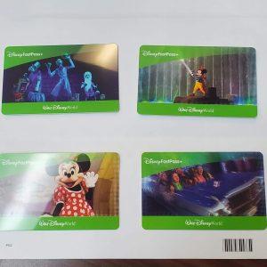 Walt Disney Tickets #1 Quantity 4