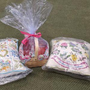 Pillows & Candle Basket