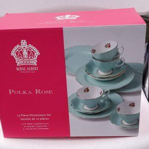 Tea Cups Polka Rose
