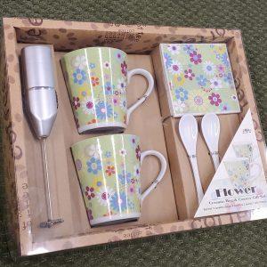 Ceramic Mug & Coaster Gift Set